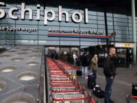 """""""Situație suspectă"""" la bordul unui avion de pe aeroportul Schiphol, dovedită a fi o eroare"""
