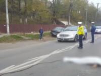 O femeie a murit zdrobită de două mașini în timp ce traversa o șosea din Vrancea