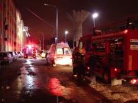 Incendiu puternic la un cămin social din Timișoara. 48 de persoane evacuate