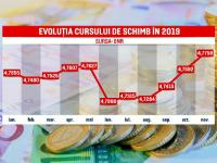 Cât de mult va creşte euro în următoarele luni. Previziuni sumbre ale analiştilor
