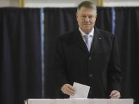 """Klaus Iohannis, primele declarații după închiderea urnelor: """"Vom crea o nouă majoritate parlamentară"""""""