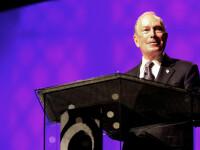 Miliardarul Bloomberg, acuzat că încearcă să cumpere democraţia americană