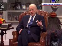 Jim Carrey l-a imitat pe Joe Biden, în ediţia de Halloween a emisiunii Saturday Night Live