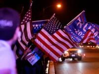Alegeri SUA 2020. Mai mulți susținători ai lui Trump s-au rugat în fața unui centru de vot din Nevada