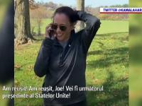 Alegeri SUA 2020. Primul apel telefonic dintre Joe Biden și Kamala Harris, după victoria din alegeri