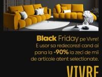 Vivre Black Friday: reduceri de până la 90% la zeci de mii de produse din toate categoriile