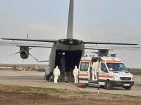 Pacienţi COVID care nu mai au loc în spitalele din Bucureşti vor fi transportaţi în Iași și Bacău