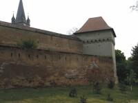 Cetatea Medievala din Targu Mures, iluminata in roz!