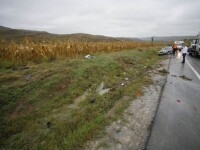 Un roman a murit intr-un accident rutier in Ungaria