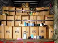 Captura impresionanta de produse de contrabanda in Ilfov