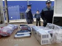 Captura record de tigari de contrabanda, la Galati