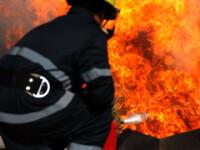Explozie intr-un bloc din Zarnesti. O femeie a ajuns la spital