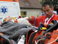 Explozie devastatoare la Iasi! Un student e in stare grava la spital