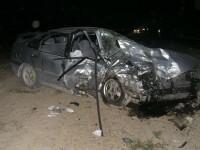 Dupa ce a provocat un accident, si-a lasat prietenii sangerand pe asfalt