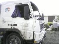 Moarte cumplita pentru un tanar din Cluj: strivit intre doua camioane