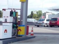 Usor turmentat si grabit, a pus la pamant doua pompe dintr-o benzinarie