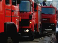 Salvati de pompieri dintr-un rezervor de apa.Li se facuse rau de la diluant