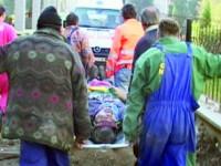 Accident de munca in curtea bisericii evangheliste din Izvin