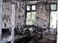 Moarte in chinuri: un baiat din Giurgiu a ars de viu in propria curte