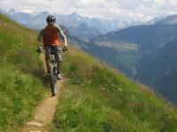 Competitie de mountain bike pe Valea Prahovei