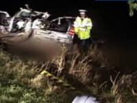 Viteza mortala! Un tanar de 19 ani a pierit, intr-un accident groaznic!