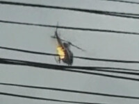 Urmarire ca-n filme in Rio de Janeiro! Impuscaturi si elicopter in flacari