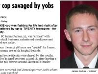Politist gay, in stare grava, dupa ce a fost batut de 20 de adolescenti!