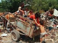 80% dintre romi traiesc in saracie. O etnie in statistici