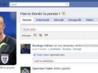 Stelistii il FAC PRAF pe arbitrul de la Steaua - Napoli pe Facebook