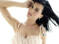Katy Perry nu are doar un bust impresionant, ci si o gura mare