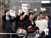 Tara protestelor! Nemultumiri si la Ministerul Muncii, Sanatatii, Educatiei