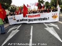 Violente in Franta. Protestatarii s-au luat la bataie cu politistii