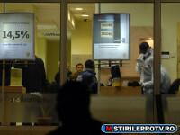 Spargere la o banca din Timisoara. Hotii au furat 16.000 de euro