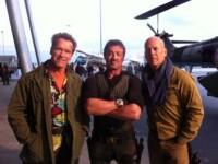 Drama in Bulgaria, pe platourile unde filmeaza Stallone, Bruce Willis si Jean Claude Van Damme