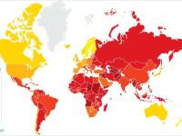 Transparency International prezinta harta celor mai corupte tari. Pe ce loc se afla Romania