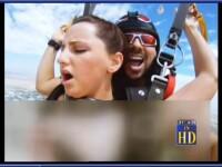 CNN: Interviu cu receptionera care a fost filmata facand sex cu instructorul de skydiving, in aer
