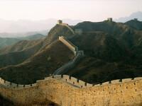 Marele Zid Chinezesc, la fel de puternic precum blocurile cu bulina rosie