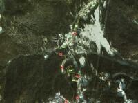 HARTA. Drumul pe care Serban Huidu a fost implicat in accident