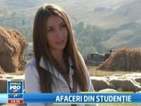 Cunoaste-i pe studentii romani care au luat fonduri europene inainte sa isi ia diploma. VIDEO