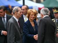 Masa festiva la BNR. Celebrarea zilei de nastere a Regelui Mihai a inceput in Capitala