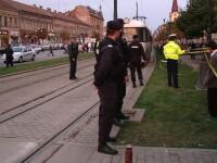 """Martori la accidentul in care o fetita a murit strivita de tramvai: """"zona este foarte periculoasa"""""""