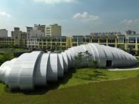 Constructia in forma de picatura de apa, minunea arhitecturala a lumii moderne. GALERIE FOTO
