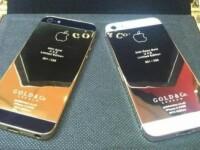 Primul iPhone 5 realizat in totalitate din aur. Pretul, pe masura