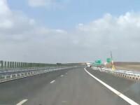 Blocajul de pe santierul autostrazii Nadlac-Arad continua. Muncitorii pierd vremea in camp