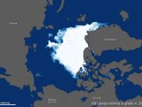 COMPARATIE. Gheata arctica, vazuta din satelit. Cum arata in 1984 si cum arata acum