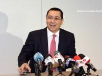 Ponta, la sedinta de Guvern: