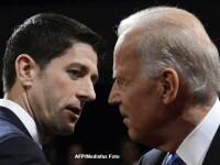 Schimburi de replici aprinse intre Joe Biden si Paul Ryan cu privire la Libia si Iran