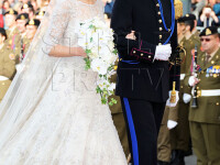Luxemburg, centrul regalitatii pentru o zi. Ultimul print mostenitor din Europa s-a casatorit. FOTO