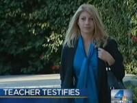 Profesoara concediata din cauza unei slujbe anterioare.
