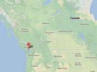 Replica de 6,2 a CUTREMURULUI produs sambata in vestul Canadei. Nu exista victime